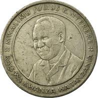 Monnaie, Tanzania, 10 Shilingi, 1989, TB+, Copper-nickel, KM:20 - Tanzania