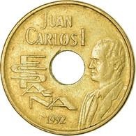 Monnaie, Espagne, Juan Carlos I, 25 Pesetas, 1992, Madrid, TTB, Aluminum-Bronze - 25 Pesetas