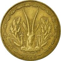 Monnaie, West African States, 10 Francs, 1975, Paris, TB+ - Ivory Coast