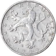Monnaie, République Tchèque, 50 Haleru, 1993, TB+, Aluminium, KM:3.1 - Czech Republic