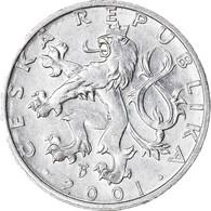 Monnaie, République Tchèque, 50 Haleru, 2001, TTB, Aluminium, KM:3.1 - Czech Republic