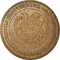Monnaie, Armenia, 20 Dram, 2003, TTB, Copper Plated Steel, KM:93 - Armenia