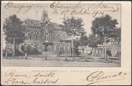 CPA  De  02  ORIGNY-EN-THIERACHE   L'Hotel De Ville   écrite Le 15 Oct 1902  Pour   80 ST VALERY Sur SOMME - Other Municipalities