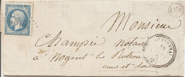 "ORNE (59) LAC De RANDONNAI (PERLE) GC 3083 Sur NAP Pour NOGENT LE ROTROU + ""OR"" IRAY - 1849-1876: Periodo Classico"
