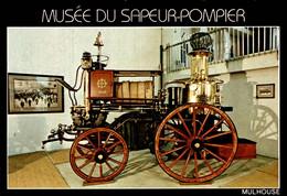 MUSEE DU SAPEUR-POMPIER De MULHOUSE  Pompe à Vapeur (1868) - Sapeurs-Pompiers