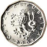 Monnaie, République Tchèque, 2 Koruny, 2003, SPL, Nickel Plated Steel, KM:9 - Czech Republic