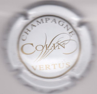 Capsule Champagne COLIN { N°10 : Blanc Et Or } {S11-21} - Unclassified