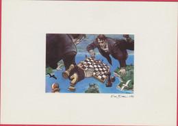 ILLUSTRATEURS ENKI BILAL AUTEUR DE BANDE DESSINEE REALISATEUR FRANCAIS 10/1951 BELGRADE POUR LA PAIX EN EX-YOUGOSLAVIE - Other Illustrators