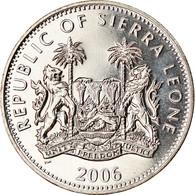 Monnaie, Sierra Leone, Dollar, 2006, British Royal Mint, Dinosaures - - Sierra Leone