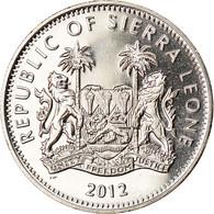 Monnaie, Sierra Leone, Dollar, 2012, British Royal Mint, Tir à L'arc, SPL - Sierra Leone