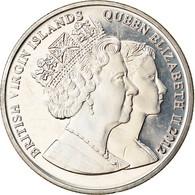 Monnaie, BRITISH VIRGIN ISLANDS, Dollar, 2012, Franklin Mint, Elizabeth II - - British Virgin Islands