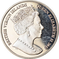 Monnaie, BRITISH VIRGIN ISLANDS, Dollar, 2018, Franklin Mint, Vie Sous-marine - - British Virgin Islands