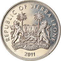 Monnaie, Sierra Leone, Dollar, 2011, British Royal Mint, Gibbon, SPL - Sierra Leone