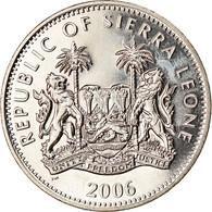 Monnaie, Sierra Leone, Dollar, 2006, Pobjoy Mint, Dinosaures - Tyrannosaure - Sierra Leone
