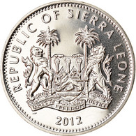Monnaie, Sierra Leone, Dollar, 2012, British Royal Mint, Saut à La Perche, SPL - Sierra Leone