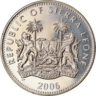 Monnaie, Sierra Leone, Dollar, 2006, British Royal Mint, L'homme De Vitruve - - Sierra Leone