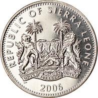 Monnaie, Sierra Leone, Dollar, 2006, Pobjoy Mint, Dinosaures - Tricératops - Sierra Leone