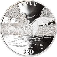 Monnaie, Liberia, Eole, 20 Dollars, 2000, Proof, FDC, Argent - Liberia
