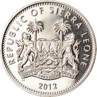 Monnaie, Sierra Leone, Dollar, 2012, British Royal Mint, Course De Haies, SPL - Sierra Leone