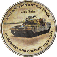 Monnaie, Zimbabwe, Shilling, 2020, Tanks - Chieftain, SPL, Nickel Plated Steel - Zimbabwe