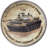Monnaie, Zimbabwe, Shilling, 2020, Tanks - T-55, SPL, Nickel Plated Steel - Zimbabwe