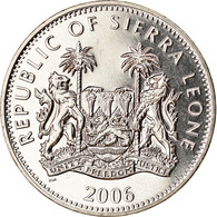 Monnaie, Sierra Leone, Dollar, 2006, Pobjoy Mint, Tricératops, SPL - Sierra Leone