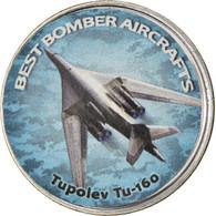 Monnaie, Zimbabwe, Shilling, 2020, Avions - Tupolev Tu-160, SPL, Nickel Plated - Zimbabwe