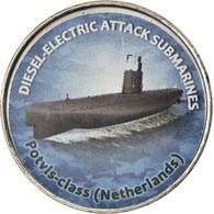 Monnaie, Zimbabwe, Shilling, 2020, Sous-marins - Potvis-Class, SPL, Nickel - Zimbabwe