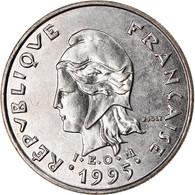 Monnaie, Nouvelle-Calédonie, 10 Francs, 1995, Paris, SPL, Nickel, KM:11 - New Caledonia