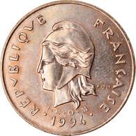 Monnaie, Nouvelle-Calédonie, 100 Francs, 1994, Paris, SPL, Nickel-Bronze, KM:15 - New Caledonia