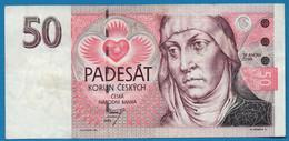 CZECHIA 50 Korun Českých 1993 # A17 007619 P# 4a Sv. Anežka Česka ČESKÁ REPUBLIKA - Czech Republic