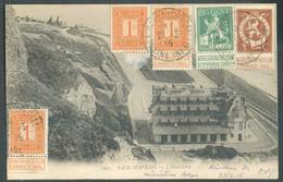 C.P. Affranchissement Pellens à 10 Centimes Obl; Sc LE HAVRE (SPECIAL) Du 22-12-1914 Vers Rive De Gier (Loire). TB - 17 - Otras Zonas