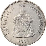 Monnaie, Honduras, 50 Centavos, 1991, TTB, Nickel Plated Steel, KM:84a.1 - Honduras