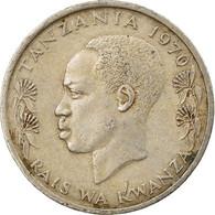 Monnaie, Tanzania, 50 Senti, 1970, TTB, Copper-nickel, KM:3 - Tanzania