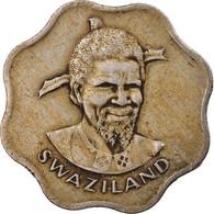 Monnaie, Swaziland, Sobhuza II, 10 Cents, 1975, British Royal Mint, TTB - Swaziland