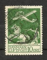Danemark Poste Aérienne N°1 Cote 30 Euros - Airmail