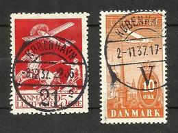 Danemark Poste Aérienne N°3 Cote 55 Euros (6 Offert) - Airmail