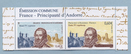 2012 Emission Commune France-Andorre - Unused Stamps