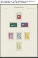 SAMMLUNGEN, LOTS **,o , 1961/2, Sammlung Verschiedener Lokalmarken: Insel Herm, Lundy, Alderney, Sark, Jethow Und Sanda, - Sammlungen