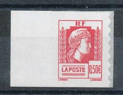 3716** Marianne D'Alger (Autoadhésif émis En Carnet) - Unused Stamps