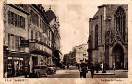 22 SAINT-BRIEUC  La Rue St-Guillaume - Saint-Brieuc