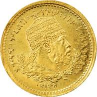 Monnaie, Éthiopie, Menelik II, 1/4 Werk, 1897, SPL, Or, KM:16 - Ethiopia