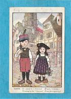 "Illustrateurs : Hansi : Gosses Alsace, On Attend Le "" Chénéral "" D'après L'estampe. - N° 18. - Hansi"