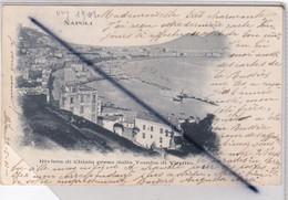Italie - Napoli . Riviera Di Chiaia Pressa Dalla Tomba Di Virgilio (carte Précurseur De 1901) - Napoli
