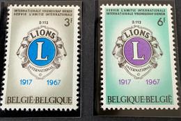 1967 - 50ste Verjaring Van De Oprichting Van De Internationale Vereniging Van De Lions Club  - Postfris/Mint - Unused Stamps