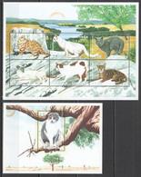 G1158 2000 GRENADA FAUNA PETS CATS BL+KB MNH - Gatti