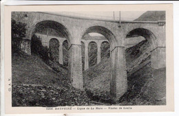 Cpa Ligne De La Mure  Viaduc De Loulla - Other Municipalities