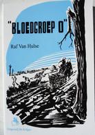 Boek Bloedgroep O Waffen SS Vlaanderen Van Hulse Oostfront SS Kriegsberichter Officier WO2 - Guerra 1939-45