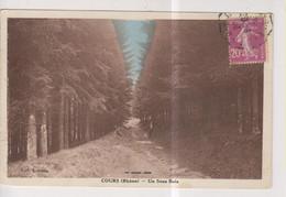 CPA-69-Rhône- COURS- Un Sous-bois- - Cours-la-Ville