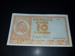 NORWAY 10 KRONEN 1972. AUNC - Norway